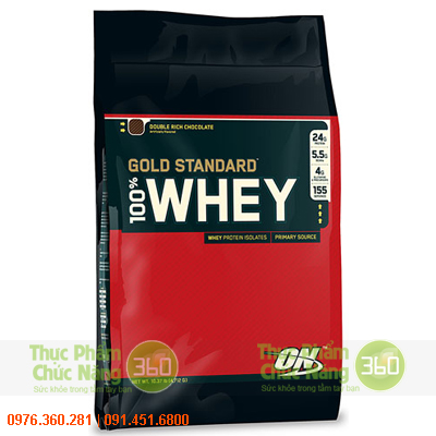 ON 100% Whey Protein Gold Standard 10Lbs (4,5kg) - Optimum Nutrition