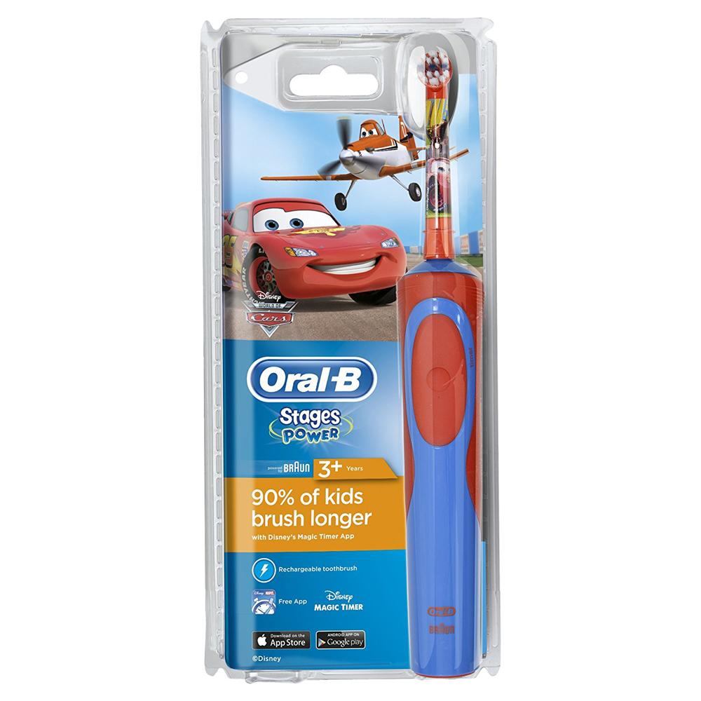 Bàn chải đánh răng điện Oral-B Stages Power Kids Cars