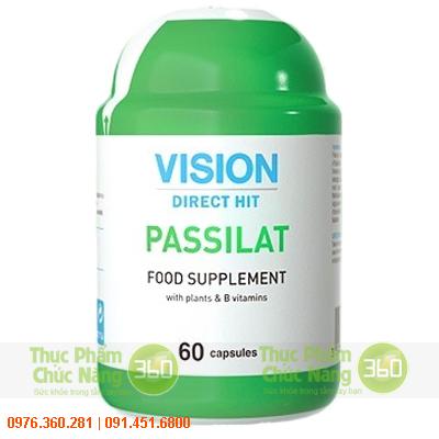 Passilat Vision giảm căng thẳng thần kinh hiệu quả