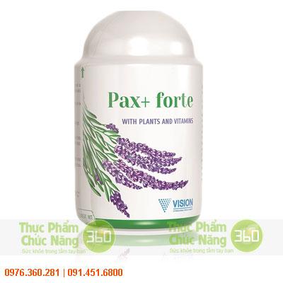 pax-forte laf sản phẩm thực phẩm chức năng vision
