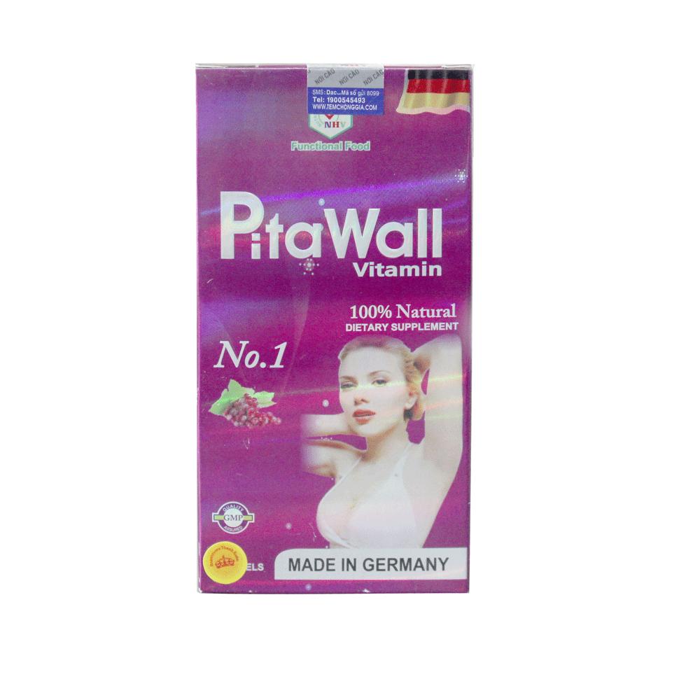 Pita Wall Vitamin giúp nở ngực