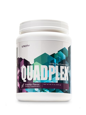 Quadplex Vanilla Unicity bổ sung đạm