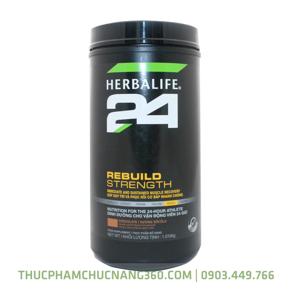 Hộp sản phẩm rebuild streng herbalife 24