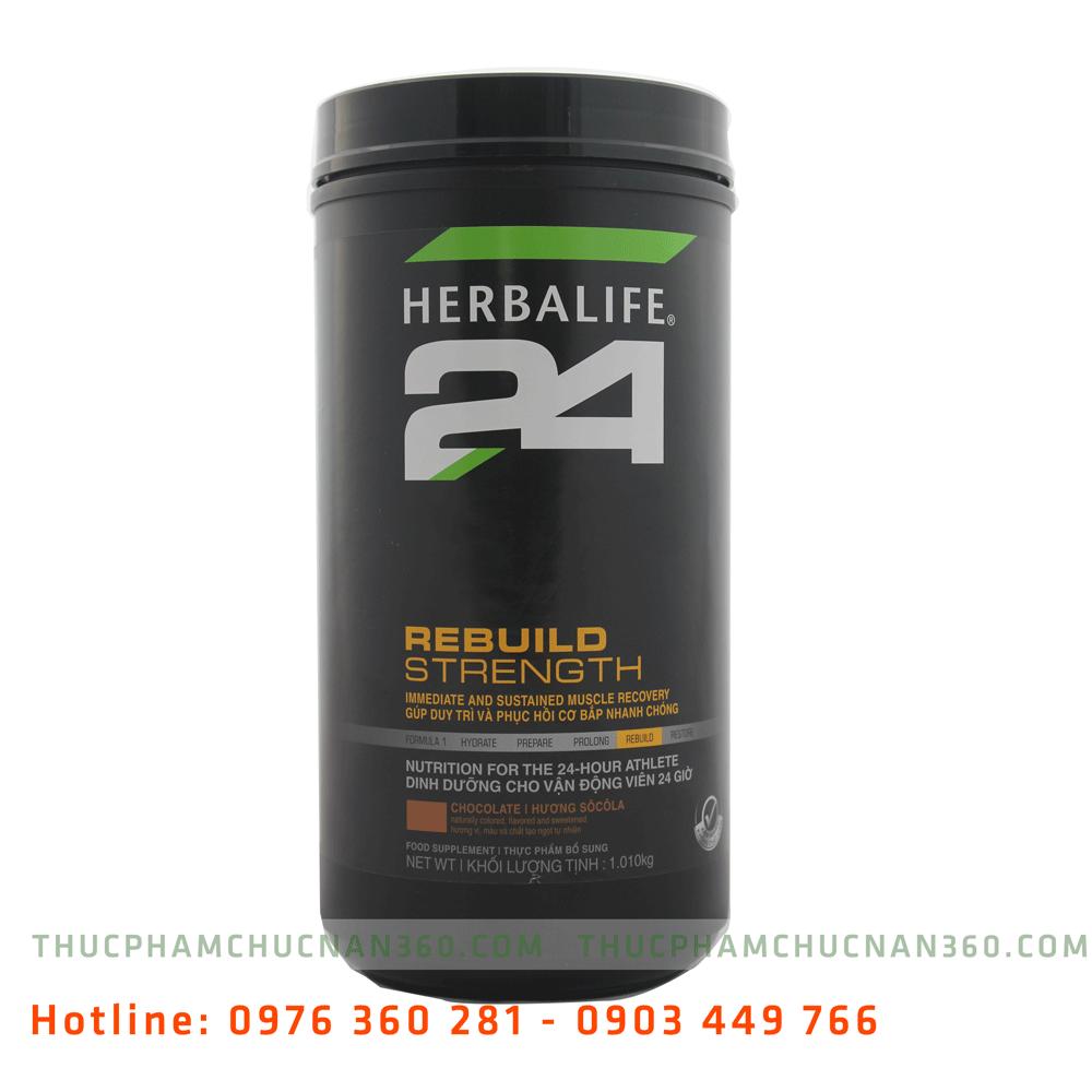 Herbalife 24 Rebuild Strength dinh dưỡng hồi phục cơ sau tập