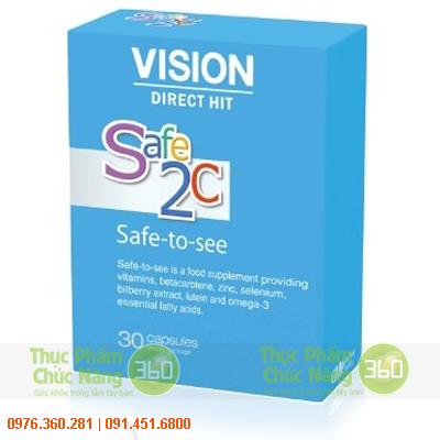 Safe 2C - Sản phẩm Vision duy trì sự nhạy bén thị giác và ngừa bệnh cho mắt