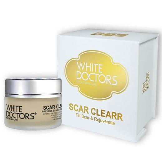 White Doctors Scar Clearr bí quyết hỗ trợ sẹo lồi sẹo lõm trên mặt lâu năm