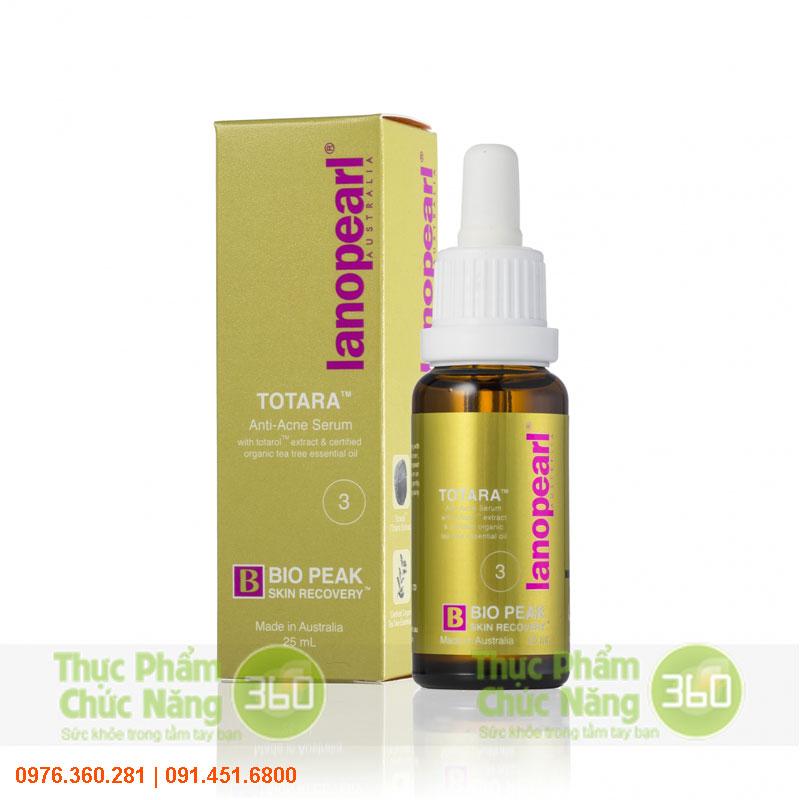 Serum trị mụn cho da nhờn TOTARA - Lanopearl