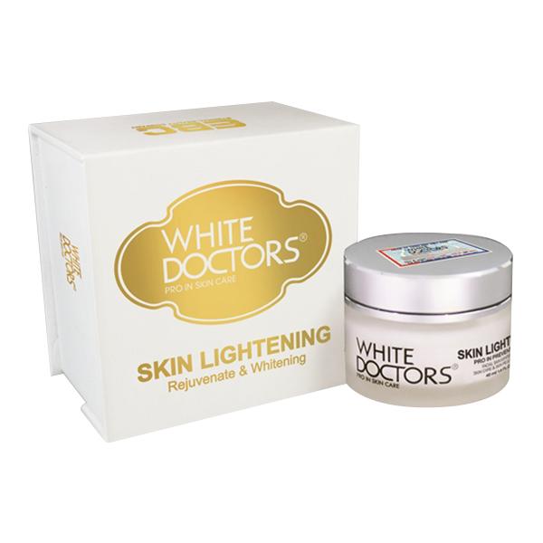 White Doctors Skin Lightening Kem dưỡng trắng da chống lão hóa