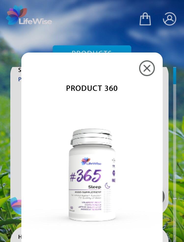 LifeWise 365 Sleep - Giúp ngủ sâu giấc