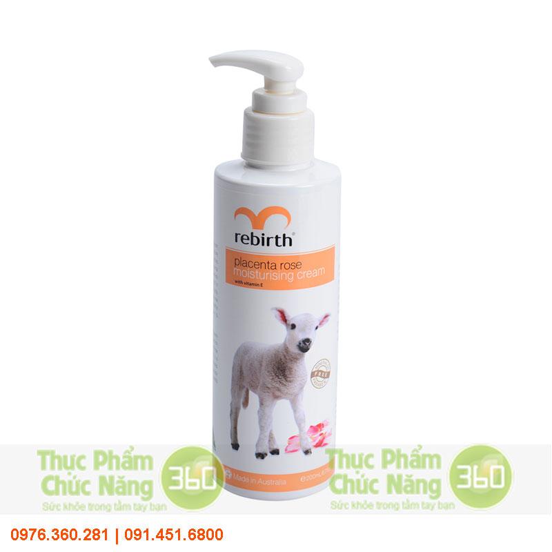 Sữa dưỡng thể nhau thai cừu Rebirth từ Úc - Lanopearl