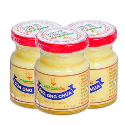 Sữa ong chúa tươi Highland Bee 100 gram