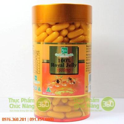 Sữa Ong Chúa Golden Health Úc 1600mg