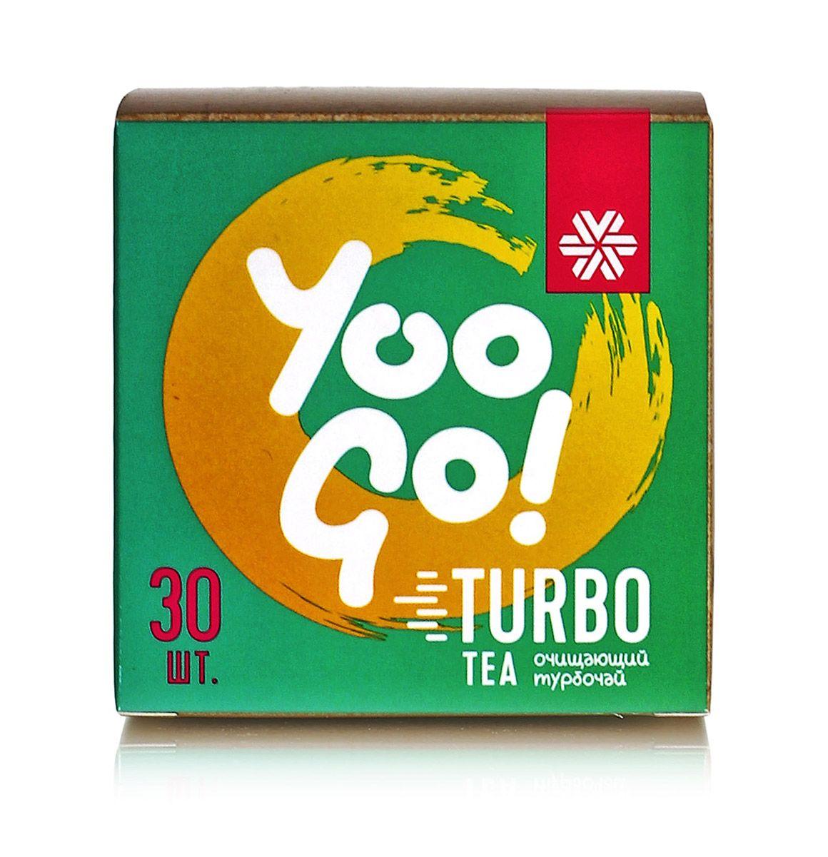 Trà thảo mộc YOO GO Turbo tea - Trà T body Siberian mẫu mới (hỗ trợ giảm cân)