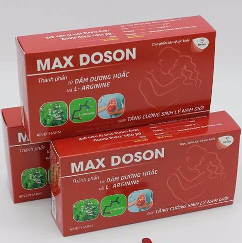 Max Doson - Tăng cường sinh lý nam