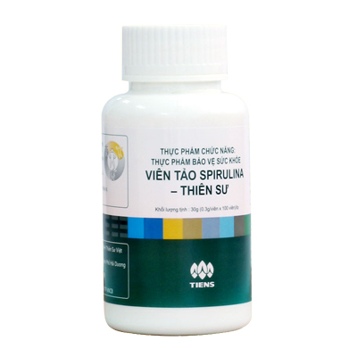 Thực phẩm chức năng Thiên Sư - Tảo xoắn Spirulina