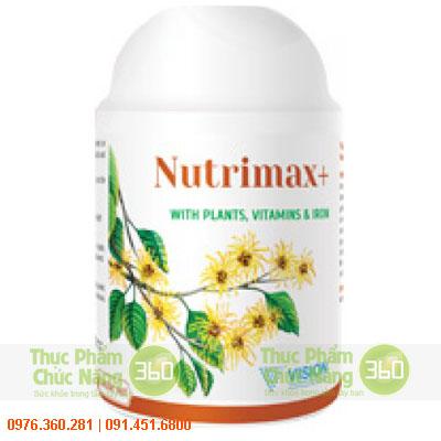 Nutrimax+ - Sản phẩm Vision bù đắp sự thiếu hụt trong khẩu phần ăn