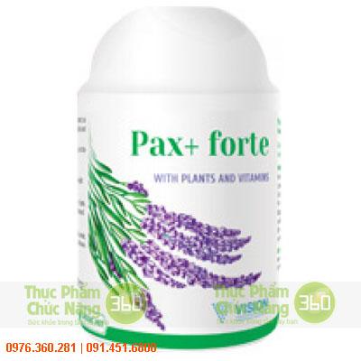 Pax+ Forte - Sản phẩm Vision chống căng thẳng thần kinh