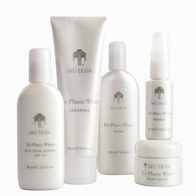 Nuskin Tri-Phasic White System Kem hỗ trợ trị nám, tàn nhang hiệu quả