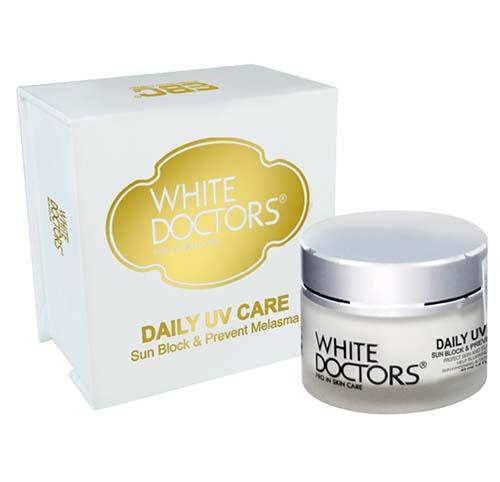 White Doctors Daily UV Care Kem chống nắng hỗ trợ trị nám và tàn nhang