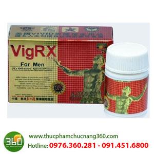 VigRx For Men từ Hong Kong cường dương cho phái mạnh