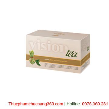 Vision tea trà xanh và cỏ chanh