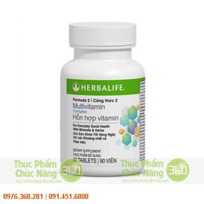 Hỗn hợp multivitamin herbalife