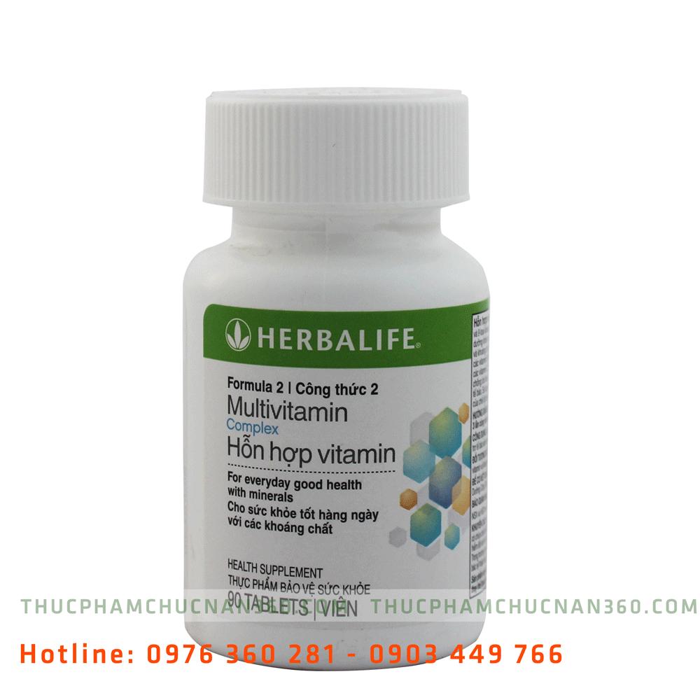 Herbalife multivitamin - Hỗn hợp vitamin công thức 2